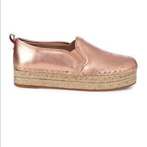 Sam Edelman Rose Gold Sneaker